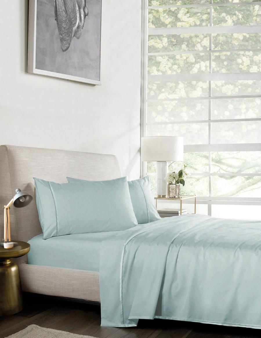 1000TC Pure Egyptian Cotton Sheet Set – Light Bluish Green