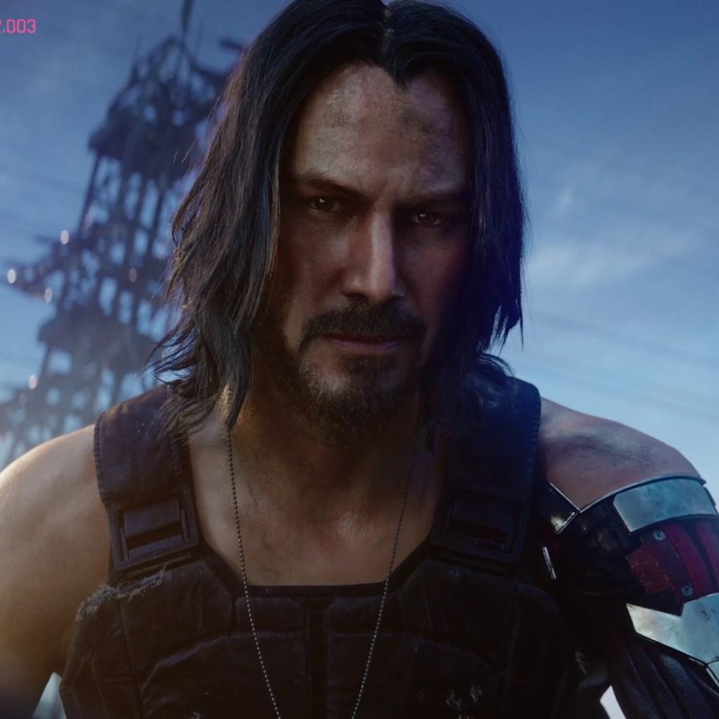 Keanu Reeves in Cyberpunk 2077 | E3 2019