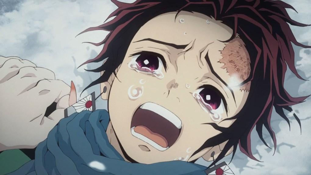Tanjiro Crying