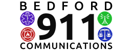 Bedford 911 Communications Logo