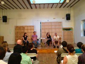 The panel. (Photo: Alexandra Glorioso)