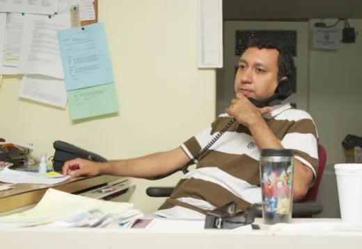CALA paralegal Carlos Chavez (Photo: Alberto Reyes)