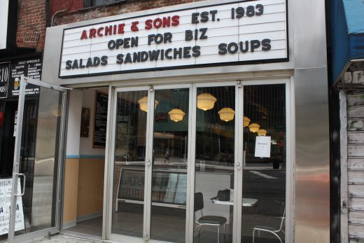 Archie's & Sons on Third Avenue (Photo: Natalie Rinn)