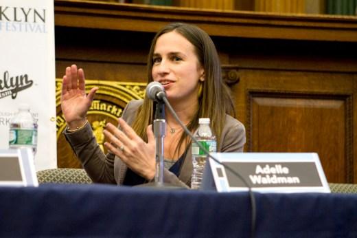 Novelist Adelle Waldman. (Photo: Meghan White)