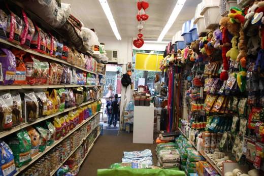 Pet supplies! (Photo: Natalie Rinn)
