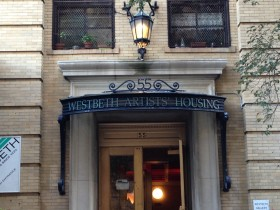 The Westbeth building.