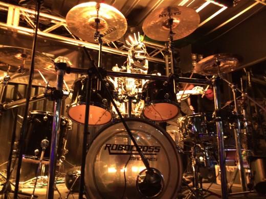 Stickboy on drums. (Photo: Daniel Maurer)