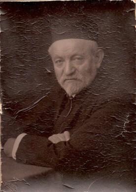 Sender Jarmulowsky. (Courtesy of the descendants of Sender Jarmulowsky and the Museum at Eldridge Street.)
