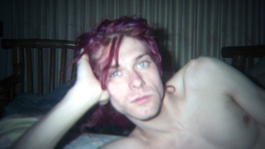 "An unseen image of Kurt Cobain at home featured in the film ""Kurt Cobain: Montage of Heck"" (© The End of Music, LLC/ Courtesy HBO)"