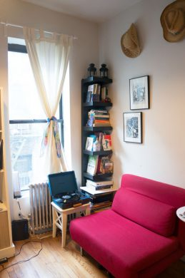The reading nook-after