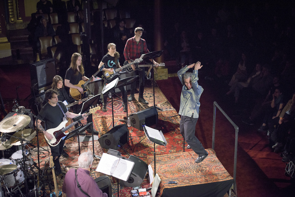 John Myers and an all-star group of musicians perform Glenn Branca