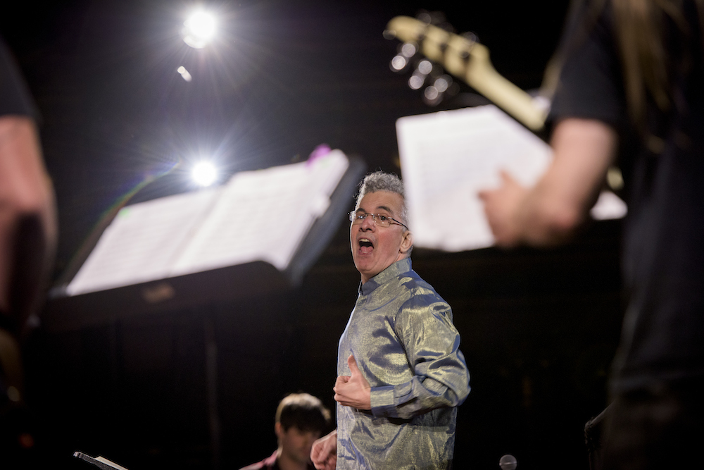 John Myers and an all-star group of musicians perform Glenn Branca
