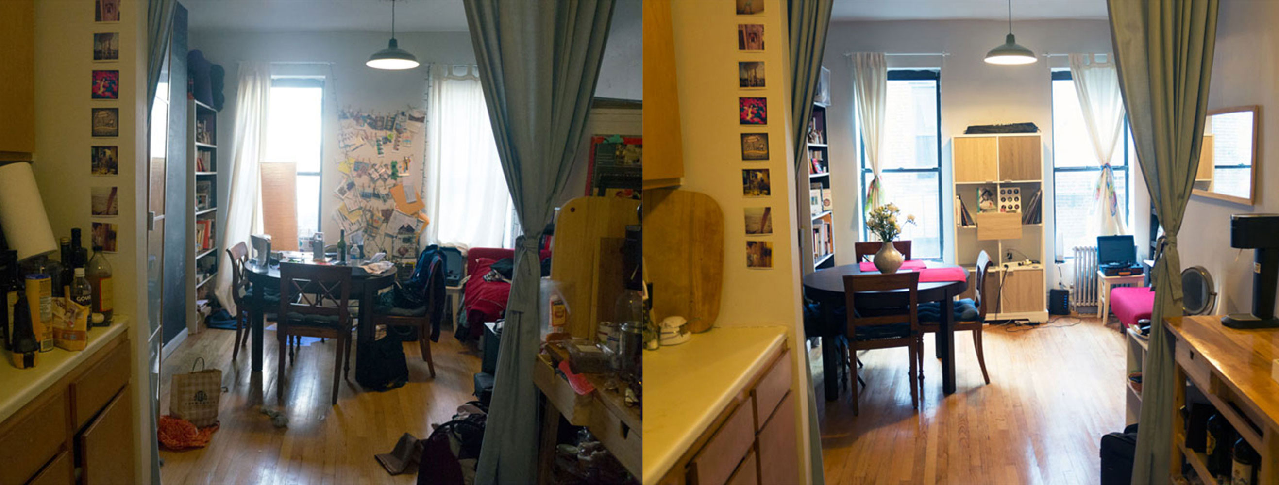 Before/After (Photo by Kavitha Surana)