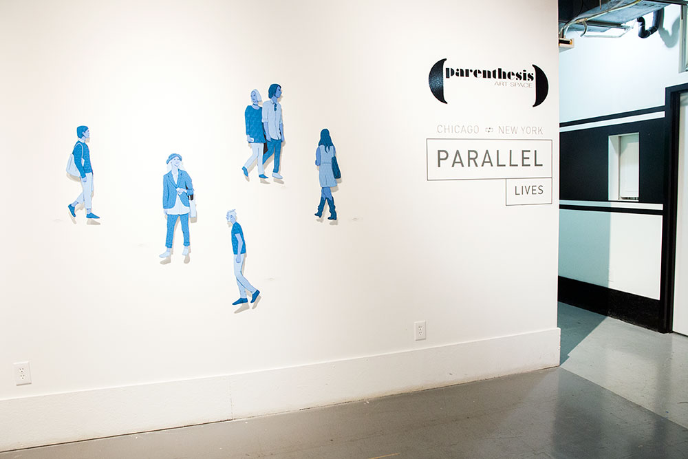 """Parallel Lives"" at Brooklyn Brush Studios (Photo: Nicole Disser)"
