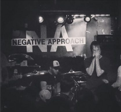 Negative Approach at the Acheron (Via Acheron Instagram)
