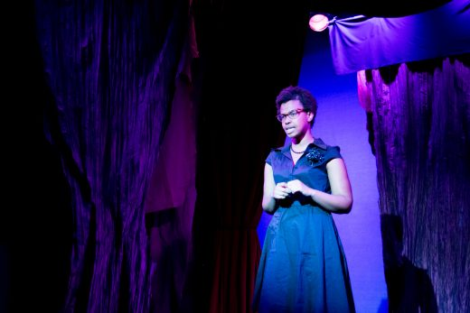 Kineta Kunutu as Nannie Doss (photo: Rebecca Russell)