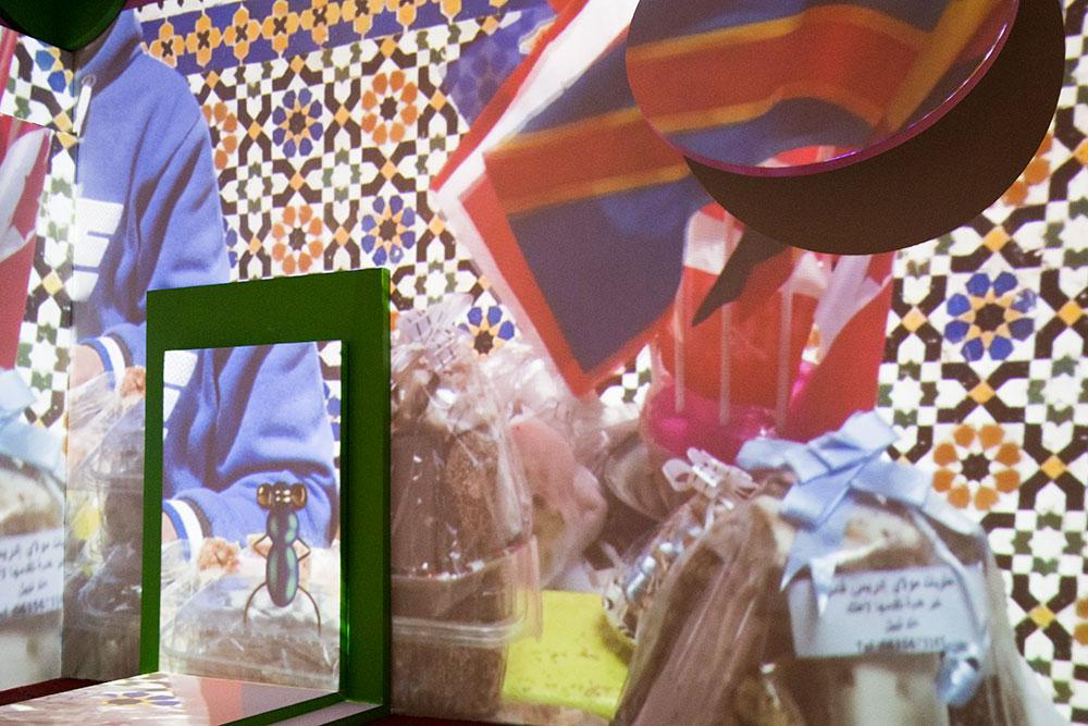"Meriem Bennani's ""FLY"" at PS1 (Photo: Nicole Disser)"