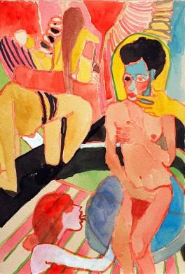 """Kimia Ferdowsi Kline, """"Breathless,"""" from the show """"Phantasmagoria"""" (image courtesy of IDIO Gallery)"""