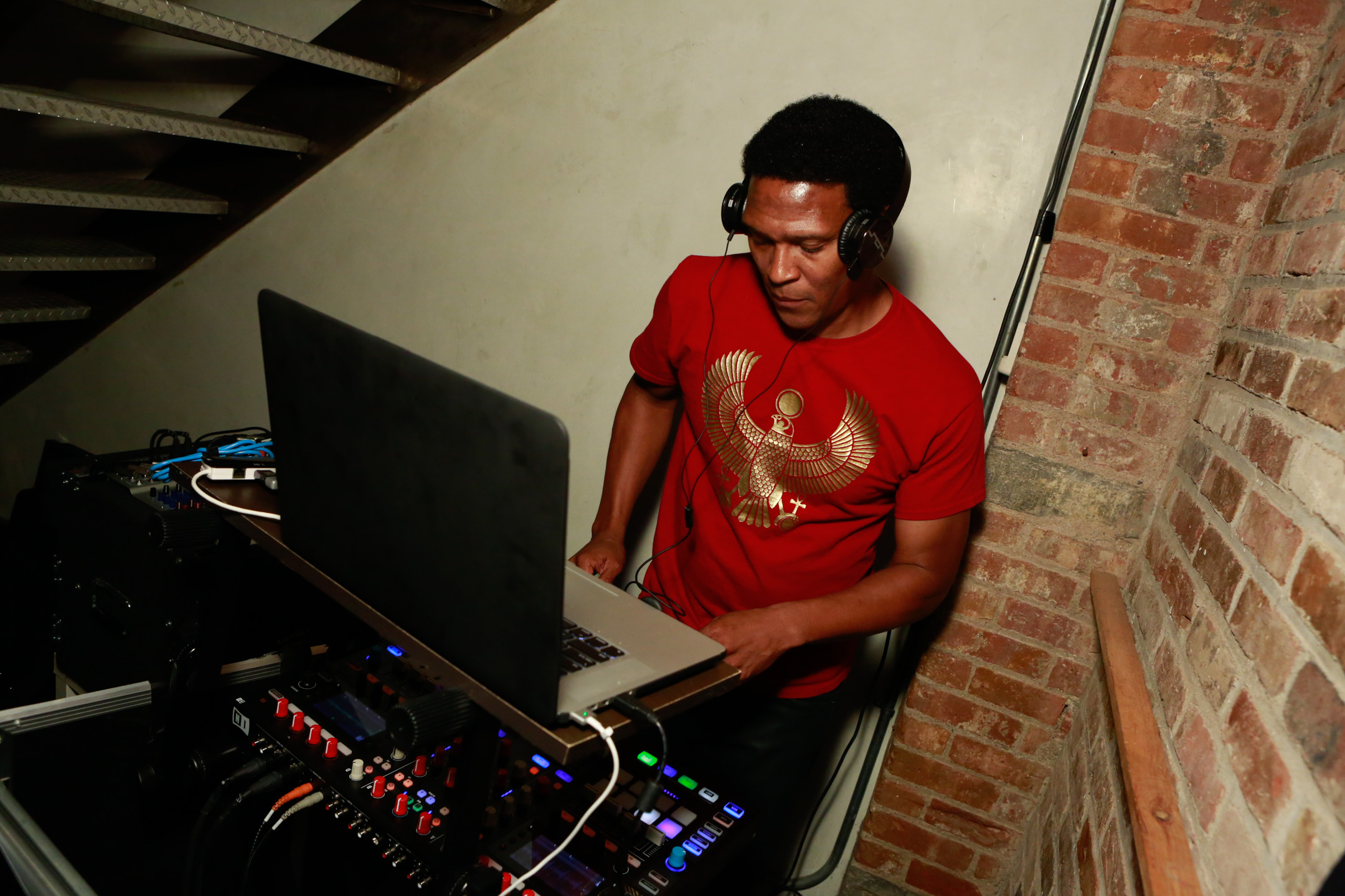 Keith Shocklee of Public Enemy (photo: Shaun Mader)