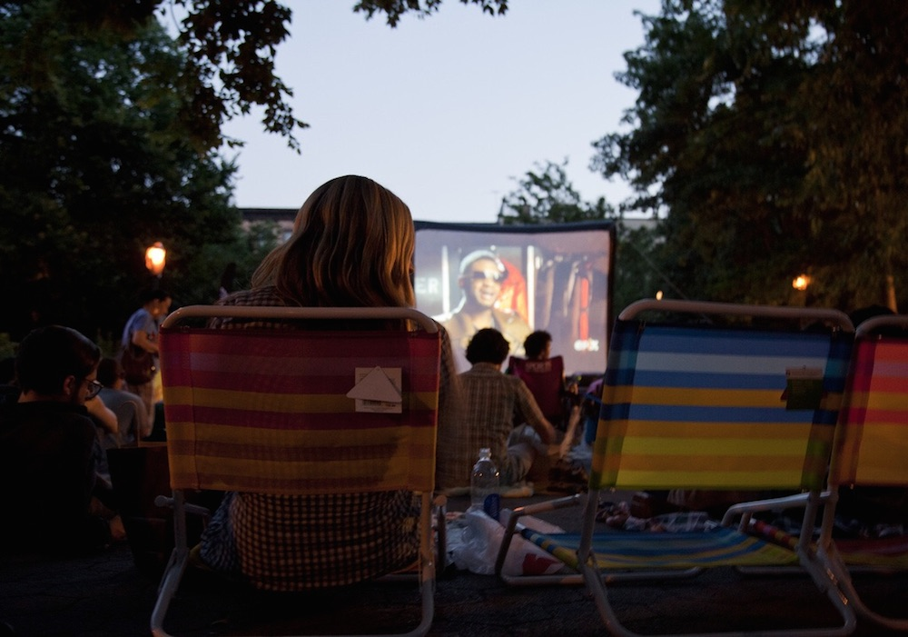 Free Films at Tompkins (Photo: Joshua Davis for The Local East Village)