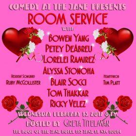 (flyer via Room Service / Facebook)