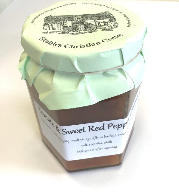 Tomato and Sweet red pepper Chutney