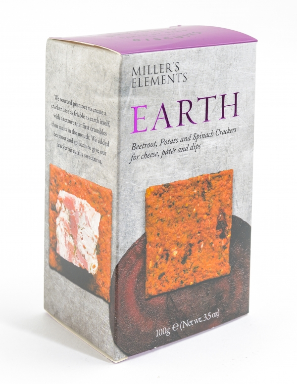 Millers Elements Earth Crackers 70g