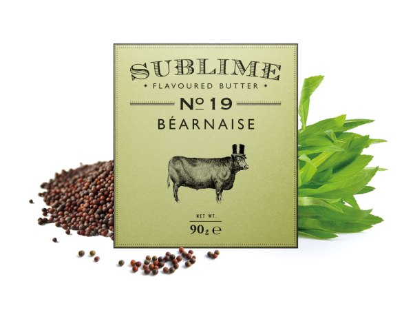 NEW Sublime Flavoured Butter No. 19 Bearnaise 90g