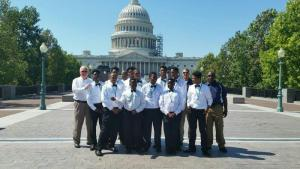 With Sheriff Mike Brown on Capitol Hill