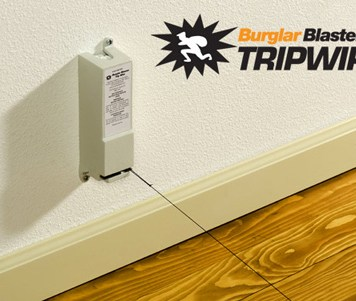 Burglar Blaster Tripwire - the do it yourself anti-burglar system