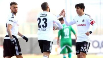 Beşiktaş Sivas engelini rahat geçti
