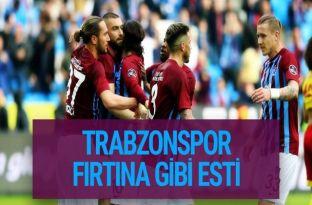 Trabzonspor Yeni Malatyaspor maçı golleri ve geniş özeti