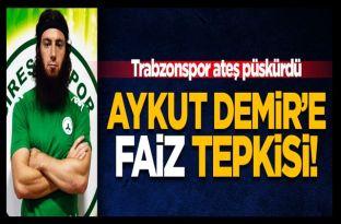 Trabzonspor'dan Aykut Demir açıklaması