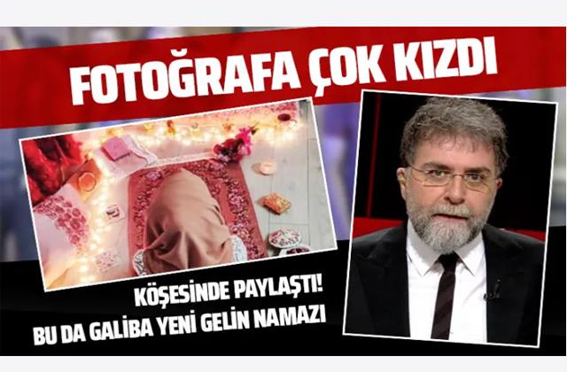Ahmet Hakan'dan sert eleştiri: Bu da galiba yeni gelin namazı
