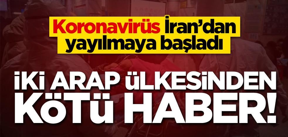 Koronavirüs İran'dan yayılmaya başladı! İki Arap ülkesinden kötü haber