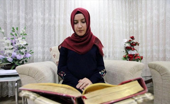 Yüzde 97'lik engelini Kur'an aşkıyla aşıp hafız oldu