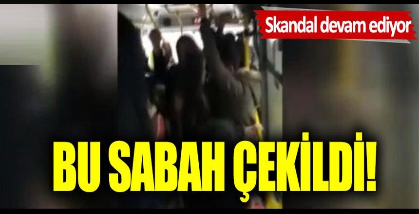 Burası İstanbul:Otobüs seferleri azaldı, minibüsler doldu!
