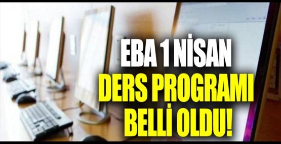 EBA internet nasıl alınır? EBA 1 Nisan ders programı! EBA internet nedir? EBA ücretsiz mi?