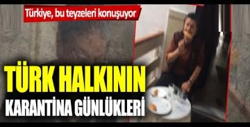 Türk halkı, evlere kapandı