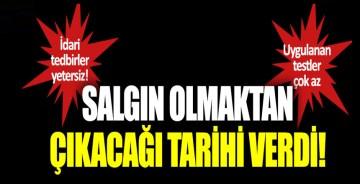 """Ali Çerkezoğlu: """"3-4 aya salgın olmaktan çıkar"""""""