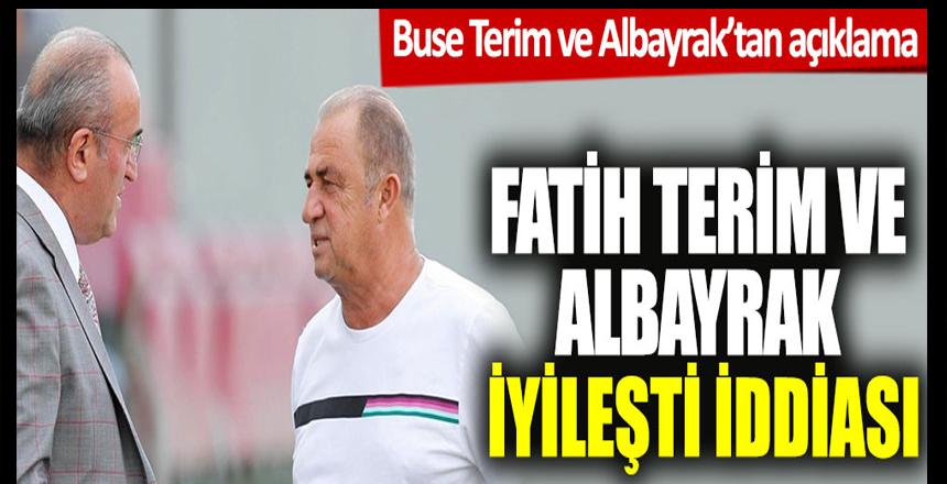 """""""Fatih Terim ve Abdurrahim Albayrak taburcu olacak"""" iddiası"""