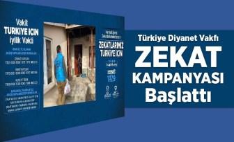 Türkiye Diyanet Vakfı zekat kampanyası başlattı