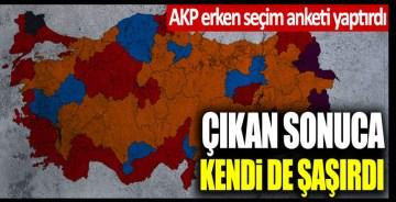 AKP erken seçim anketi yaptırdı, çıkan sonuca kendi de şaşırdı