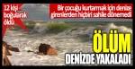 Bir çocuğu kurtarmak için denize giren 12 kişi öldü