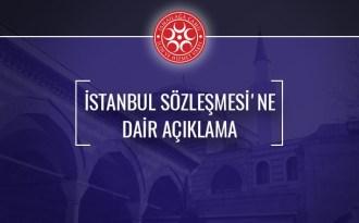 İsmail Ağa cemaatinden İstanbul Sözleşmesi'ne Dair Açıklama