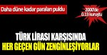 Türk Lirası karşısında her geçen gün zenginleşiyorlar, daha düne kadar paraları puldu