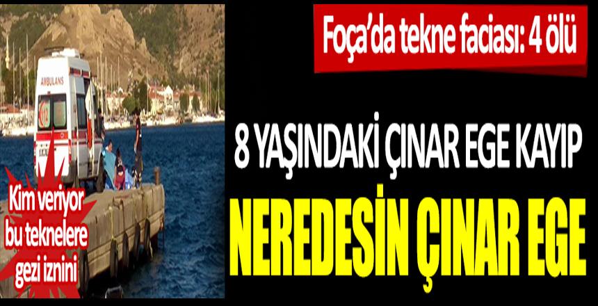 Foça'da tekne faciası: Kim veriyor bu teknelere gezi iznini