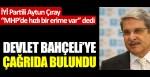 """İYİ Partili Aytun Çıray """"MHP'de hızlı bir erime var"""" dedi Devlet Bahçeli'ye çağrıda bulundu"""