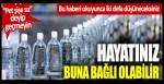 Pet şişe su deyip geçmeyin: Hayatınız buna bağlı olabilir