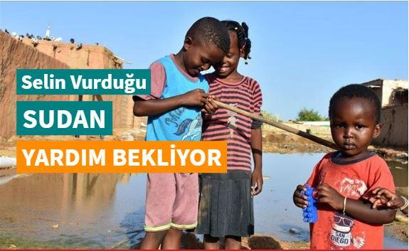 Selin vurduğu Sudan yardım bekliyor